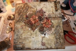 My First Try at Mixed Media…a canvas