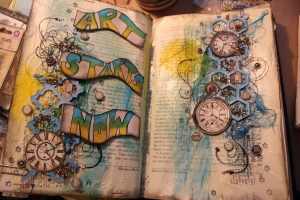 Newest Art Journal Page